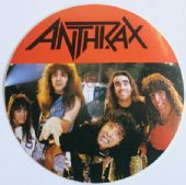 Anthrax - 'Group' Round Sticker